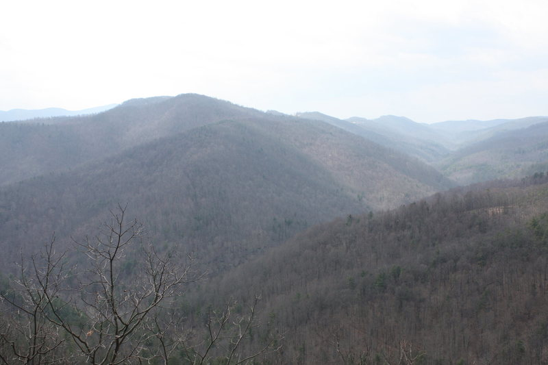 View from '20 Minute Cliff' overlook
