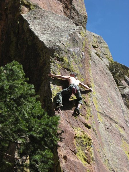 "Rock Climbing Photo: ""Use hands and toes on both aretes...."" ..."