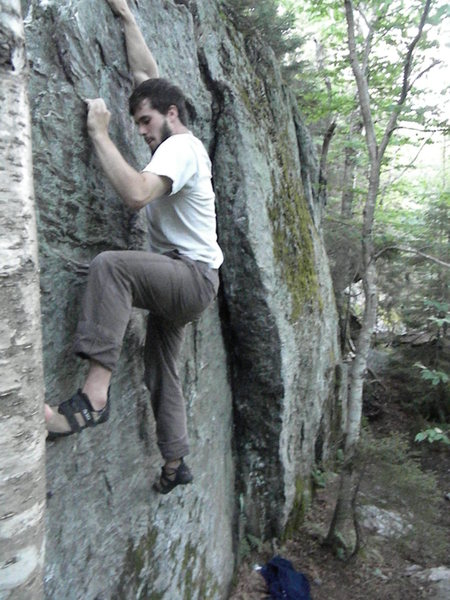 Rock Climbing Photo: Rielys Wall- Smuggs