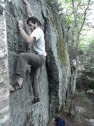 Rock Climbing Photo: Rielys Wall- Smuggs
