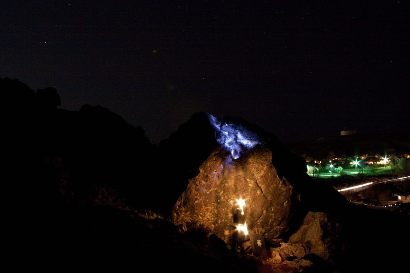 Rock Climbing Photo: Nighty.