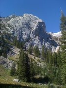 Rock Climbing Photo: Ainger Lake formation with lake out of frame right...