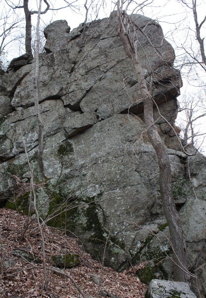 One of the secondary outcroppings.