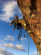 Rock Climbing Photo: Justin finishes the last pitch of Northwest Passag...