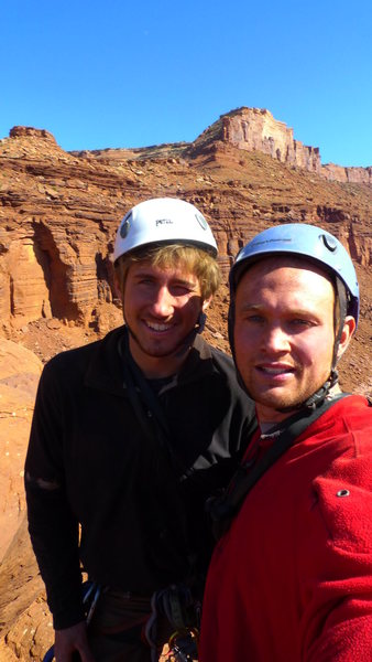 Rock Climbing Photo: Erik's first of the Fisher type towers, and first ...