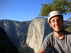 Rock Climbing Photo: The top of Higher Cathedral Spire (5.9), Yosemite,...