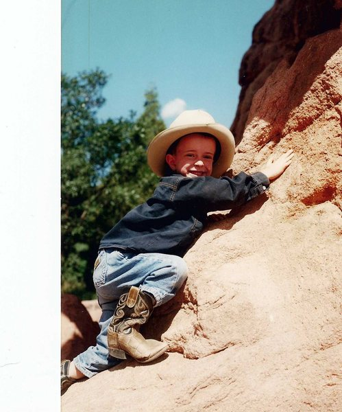 My first climb in Garden of the Gods