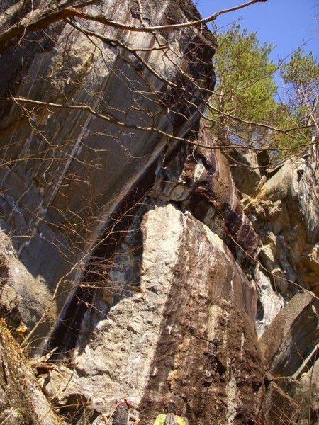 Rock Climbing Photo: Wameia Wall Rumney