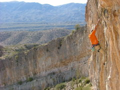 Rock Climbing Photo: Tufa-one Photo by Jeff