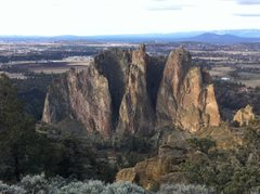 Rock Climbing Photo: Beautiful Smith Rock State Park - It's great to be...