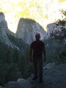 Rock Climbing Photo: Hiking in to Snake Dike