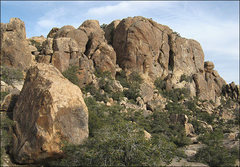 Rock Climbing Photo: Golden Nugget and Upper Walt's Rocks. Photo by Bli...