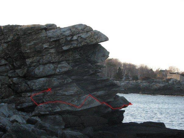 Rock Climbing Photo: Beta Line