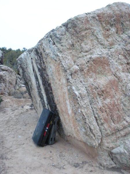 Rock Climbing Photo: Camp Side Arete