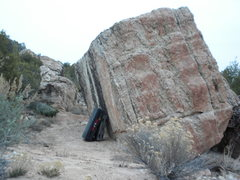 Rock Climbing Photo: Easy lap problem.
