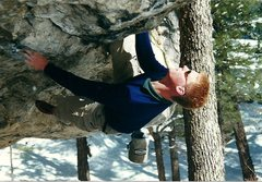Rock Climbing Photo: The designer of all the best Priest Draw beta, Mat...