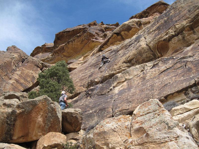 Rock Climbing Photo: Grit'er Done.