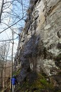 Rock Climbing Photo: The Front Face at Weem