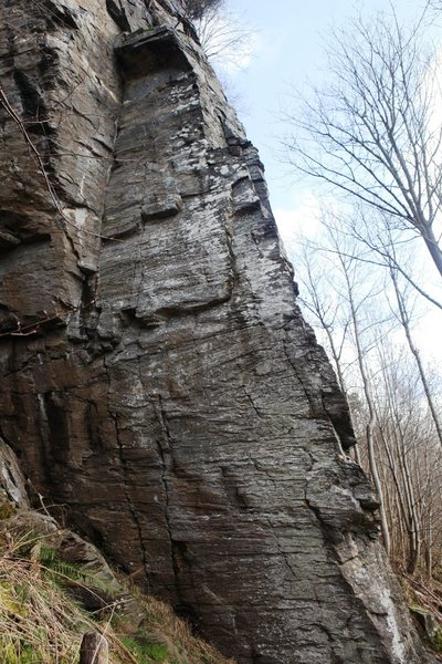 Rock Climbing Photo: The rightside of the Side Wall