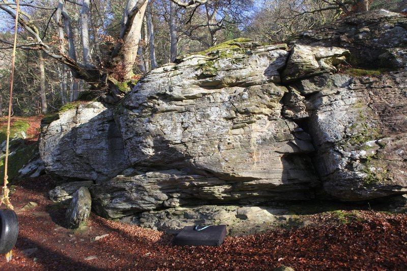 Rock Climbing Photo: The best bit of rock on the East Block