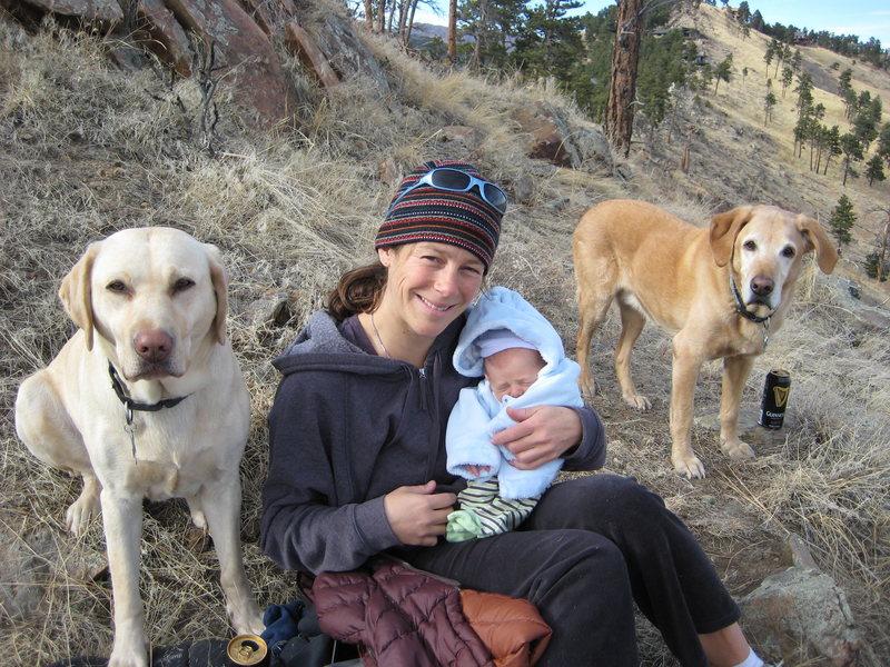 Libbie, Tess, Kaiden and Pete