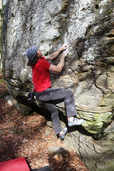 The Pinch on Too Hard Too High, V5+