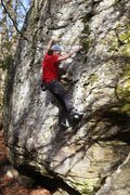 Rock Climbing Photo: Bouldering behind the trees on The West Block at W...