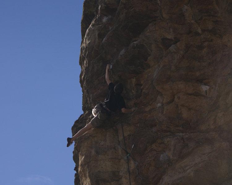 Ben Lindfors Climbing Big Dog.