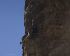Rock Climbing Photo: Ben Lindfors Climbing Big Dog.
