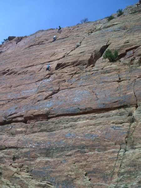 John and Chad on the last pitch of Road To Nowhere.  Jess on Wide Open Spaces.