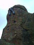 Rock Climbing Photo: Jessica.