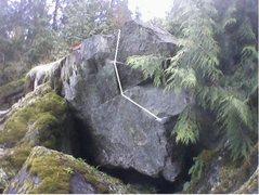 Rock Climbing Photo: Spread Eagle