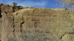 Rock Climbing Photo: Tiago on Athabaskan