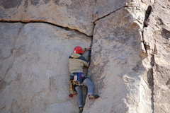 Rock Climbing Photo: A #3 Camalot goes well here.