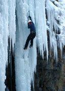 Rock Climbing Photo: top-rope hero at ouray