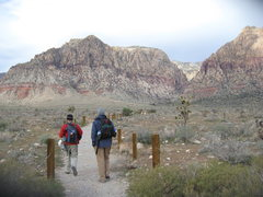 Rock Climbing Photo: Nathan Fitzhugh and John Maynard heading into Firs...