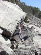 Rock Climbing Photo: Steep.