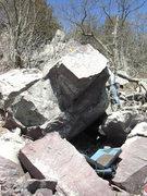 Rock Climbing Photo: Battle Wound.