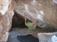 Rock Climbing Photo: gotta love those weird pinches