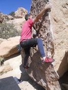Rock Climbing Photo: fun easy problem