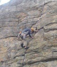 Rock Climbing Photo: Kens Crack