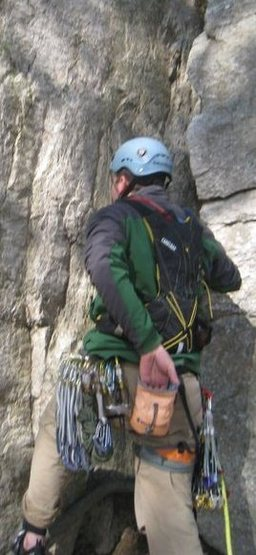 Rock Climbing Photo: Heading off
