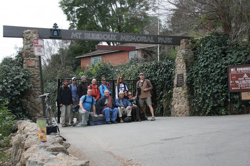 Rock Climbing Photo: Group shot.