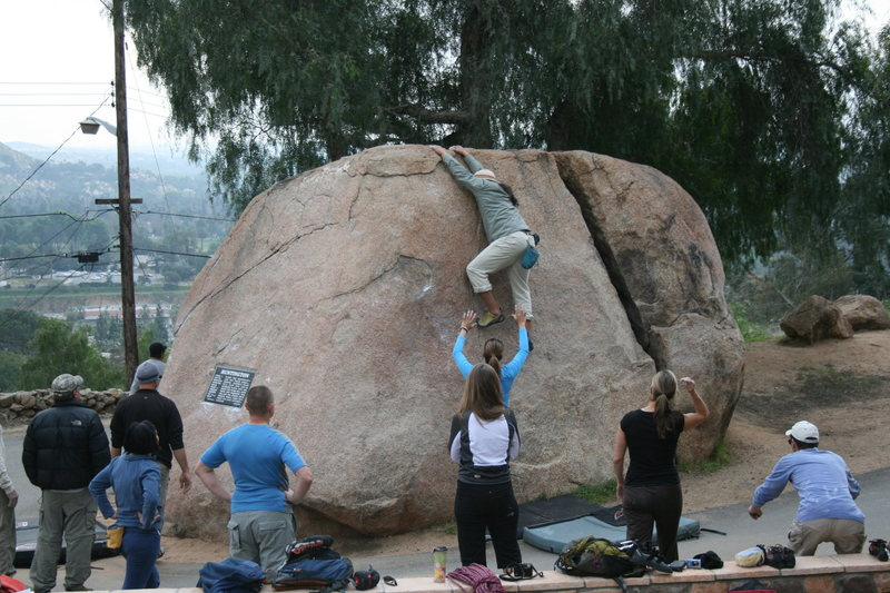 Rock Climbing Photo: Don't worry Albert, Aginas got you.