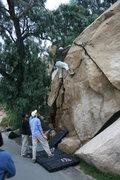 Rock Climbing Photo: Albert Rameriz on the Dynamite Flake.