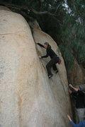 Rock Climbing Photo: Noelle Ladd on Pepper Tree Crack.