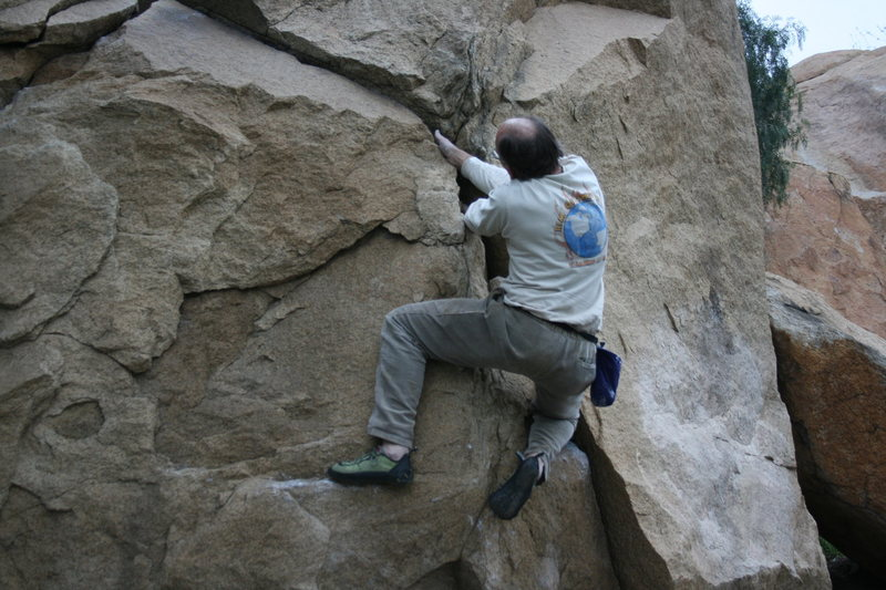 Kenn Kenaga on the Dynamite Crack.