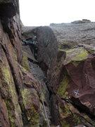 Rock Climbing Photo: Last pitch. Long John Wall