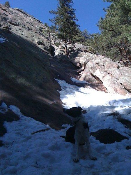 Rock Climbing Photo: Second flatiron
