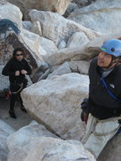Rock Climbing Photo: Rasta and Ram.